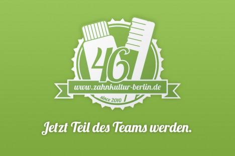 Stellenangebote, Karriere, Jobs bei der Zahnkultur Berlin