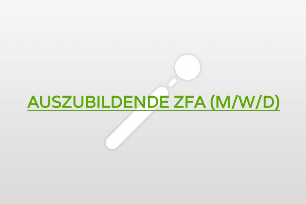 Job Azubi ZFA Berlin