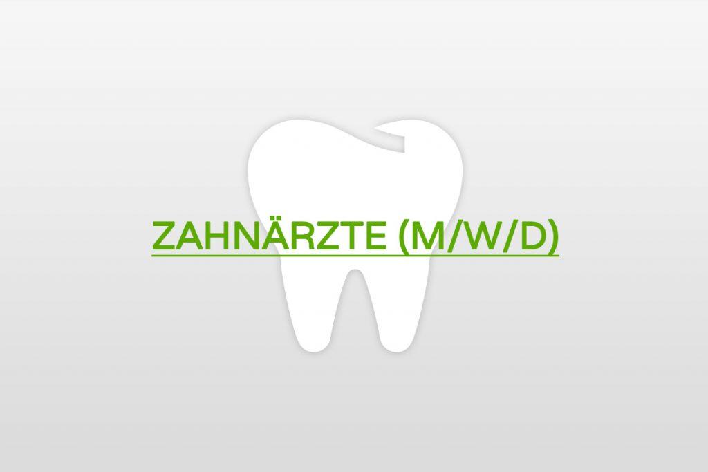 Karriere als Zahnarzt / Assistenzzahnarzt