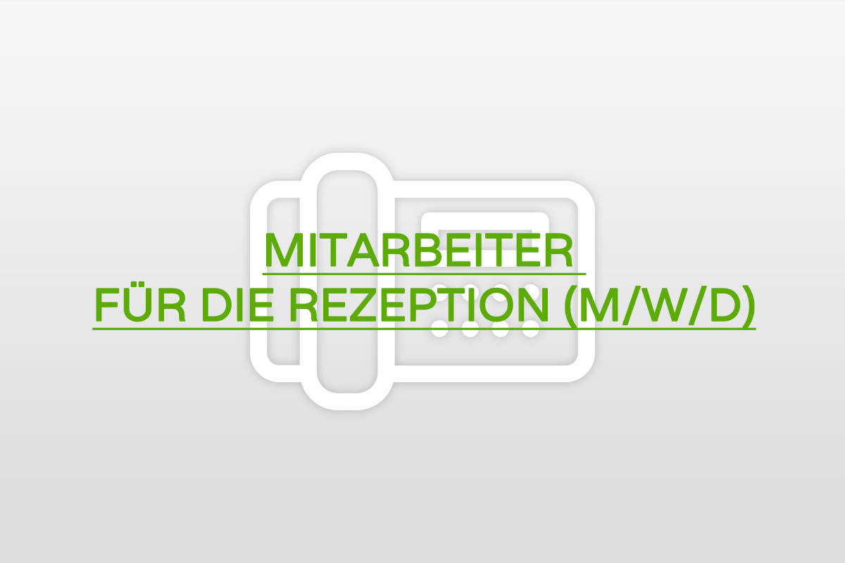 Jobs an der Rezeption