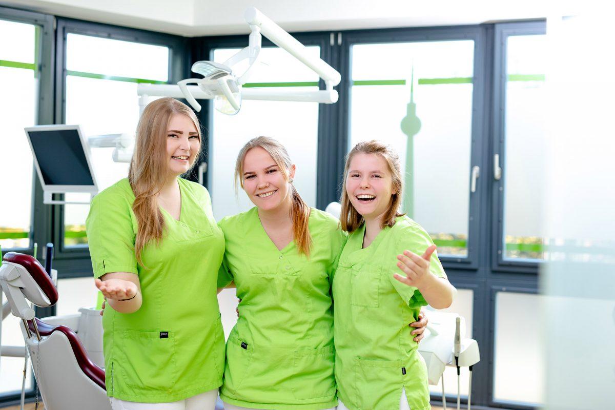 Ausbildung bei der Zahnkultur Berlin