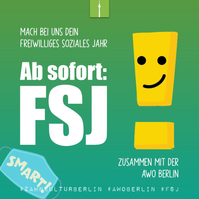 FSJ - Freiwilliges Soziales Jahr bei der Zahnkultur Berlin